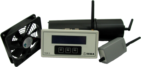 TERA system for measuring and regulating of radon concentration in buildings