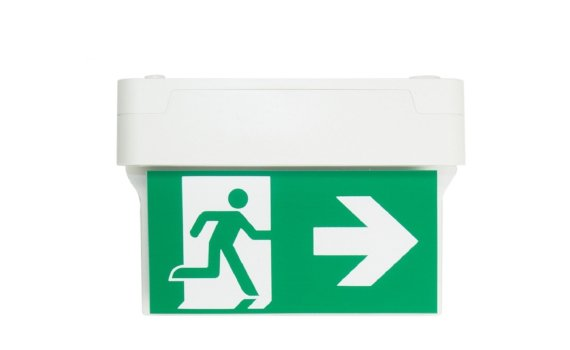 Liteplan CE1S Surface Mount Exit Sign
