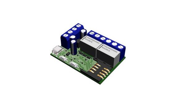 Development kit with relays DK-SW2-01