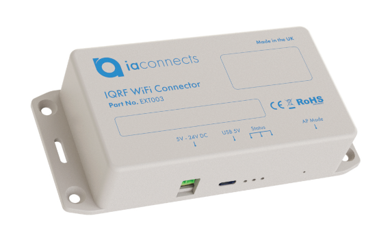 IAconnects MobiusFlow IQRF WiFi Connector